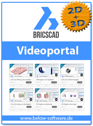 BricsCAD Video Portal below2D3D